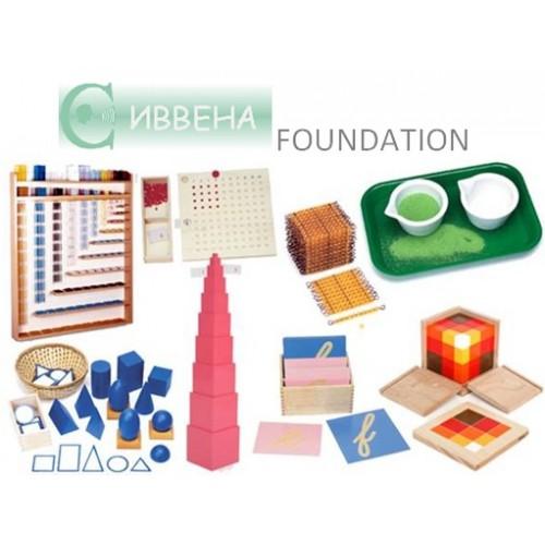 МОНТЕСОРИ ОБОРУДВАНЕ за детски градини, ресурсни, частни и дневни центрове за работа с деца с увреждания